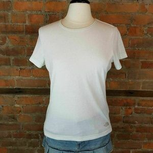 NWT North Face Womens T-Shirt Top Short Sleeves Wh
